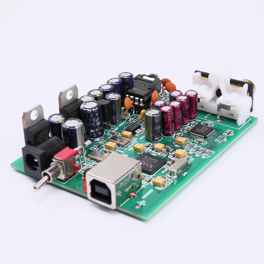 NEW K GUSS XMOS U8 + AK4490 AMP NE5532 USB DAC Decoder Sound Card Headphone  Output Support for PCM 192kHz DC9V