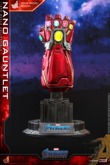 Endgame Nano Gauntlet Movie Promo Edition Glove Hot Toys 1//4 ACS008 Avengers