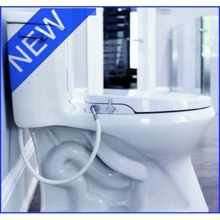 Miraculous Geniebidet Elongated Toilet Bidet Seat Non Electric Simple Install Evergreenethics Interior Chair Design Evergreenethicsorg