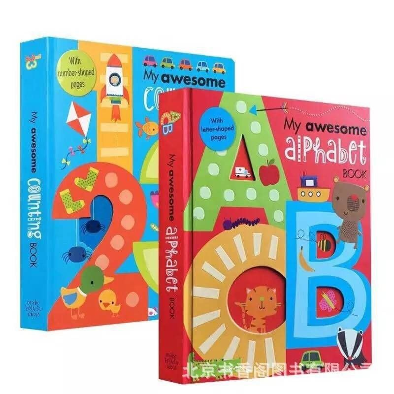 My Awesome Alphabet Counting Books