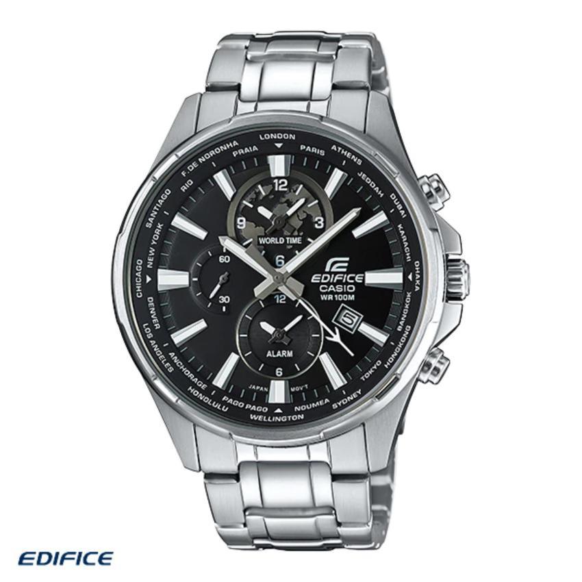 Casio Edifice นาฬิกาข้อมือผู้ชาย สายสแตนเลส รุ่น EFR-304D-1AV