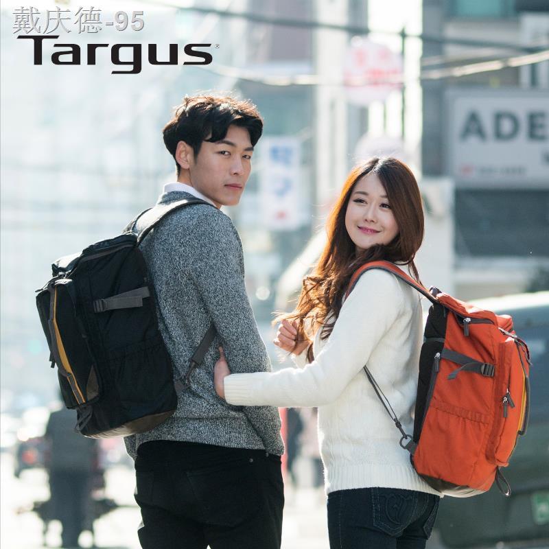 กระเป๋าคอมพิวเตอร์สะพายไหล่ Targus/Targus TSB905 15.6 นิ้ว 14 นิ้วรุ่นเกาหลีของกระเป๋าสะพายหลังการเดินทางและพักผ่อนกลางแ