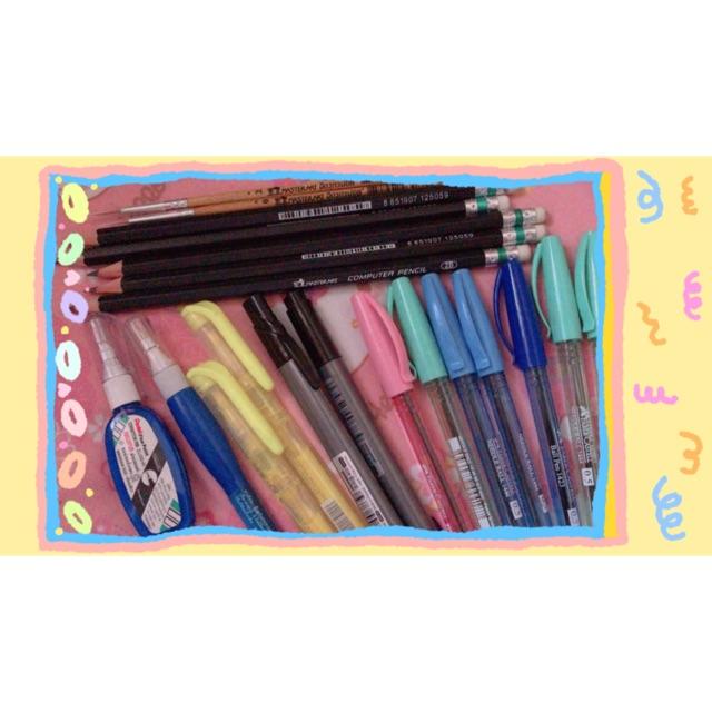 ปากกา,ดินสอ,พู่กัน,ห่วงทอง มือ1 ราคาถูก