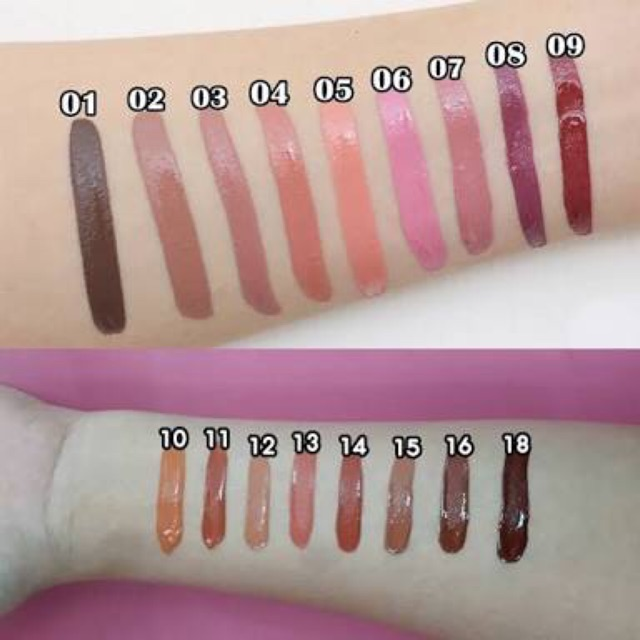 Image # 6 of Review Cathy Doll Nude Me Liquid Lip Matte ขนาด 4g.