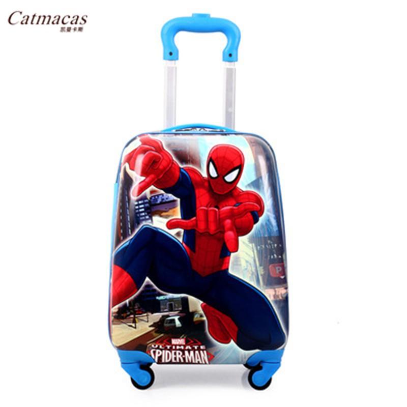 ℉のกระเป๋าเดินทางเด็ก  กระเป๋ารถเข็นเดินทางรถเข็นเด็กสามารถนั่งและขี่กระเป๋าเดินทางการ์ตูนสาวเจ้าหญิงกระเป๋าเดินทางเด็กเด