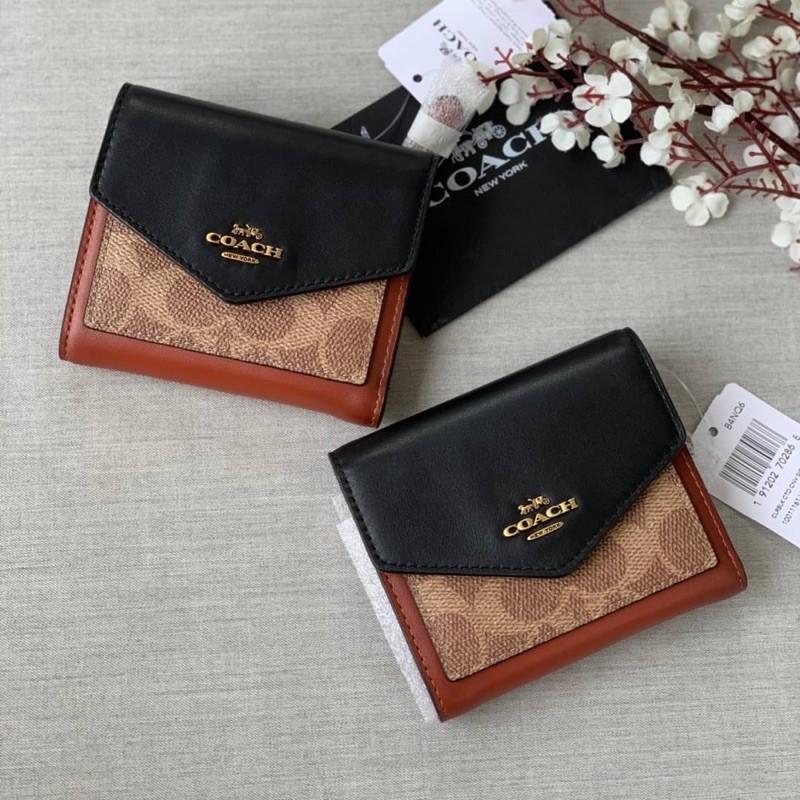 พร้อมส่งที่ไทยค่ะ coach แท้%กระเป๋าสตางค์ใบสั้น 31548 gAw6