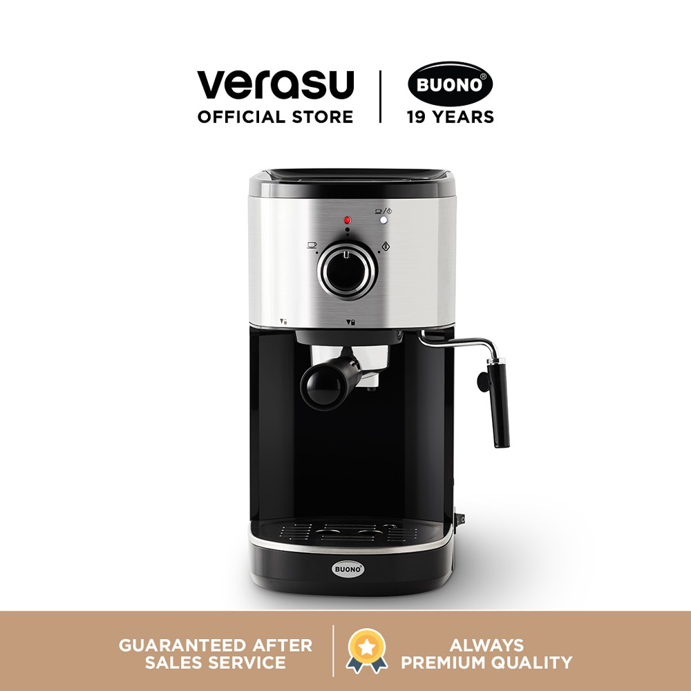 BUONO เครื่องชงกาแฟเอสเพรสโซ รุ่น BUO-265403 VERASU วีรสุ เครื่องชงกาแฟ เครื่องทำกาแฟ