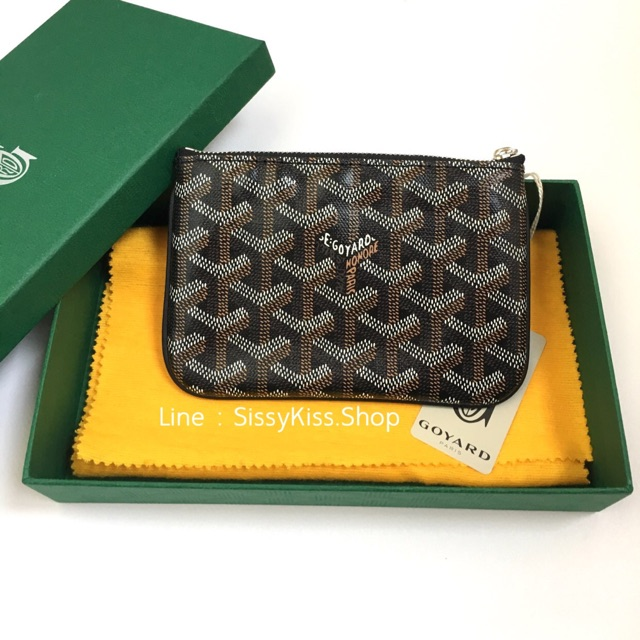 New Goyard mini pouch