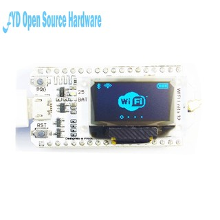 SX1278 LoRa ESP32 0 96 inch Blue OLED Display Bluetooth WIFI Lora Kit 32  Module Internet Development Board Antenna