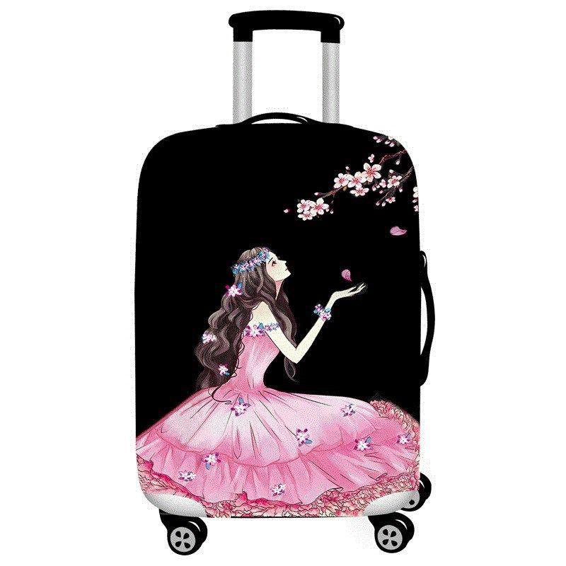 สวมใส่และกันน้ำ Oxford ผ้ากระเป๋าเดินทางกระเป๋ารถเข็นกระเป๋าเดินทางกระเป๋าเดินทางหนังกระเป๋าเดินทางเสื้อป้องกัน 20/24/28