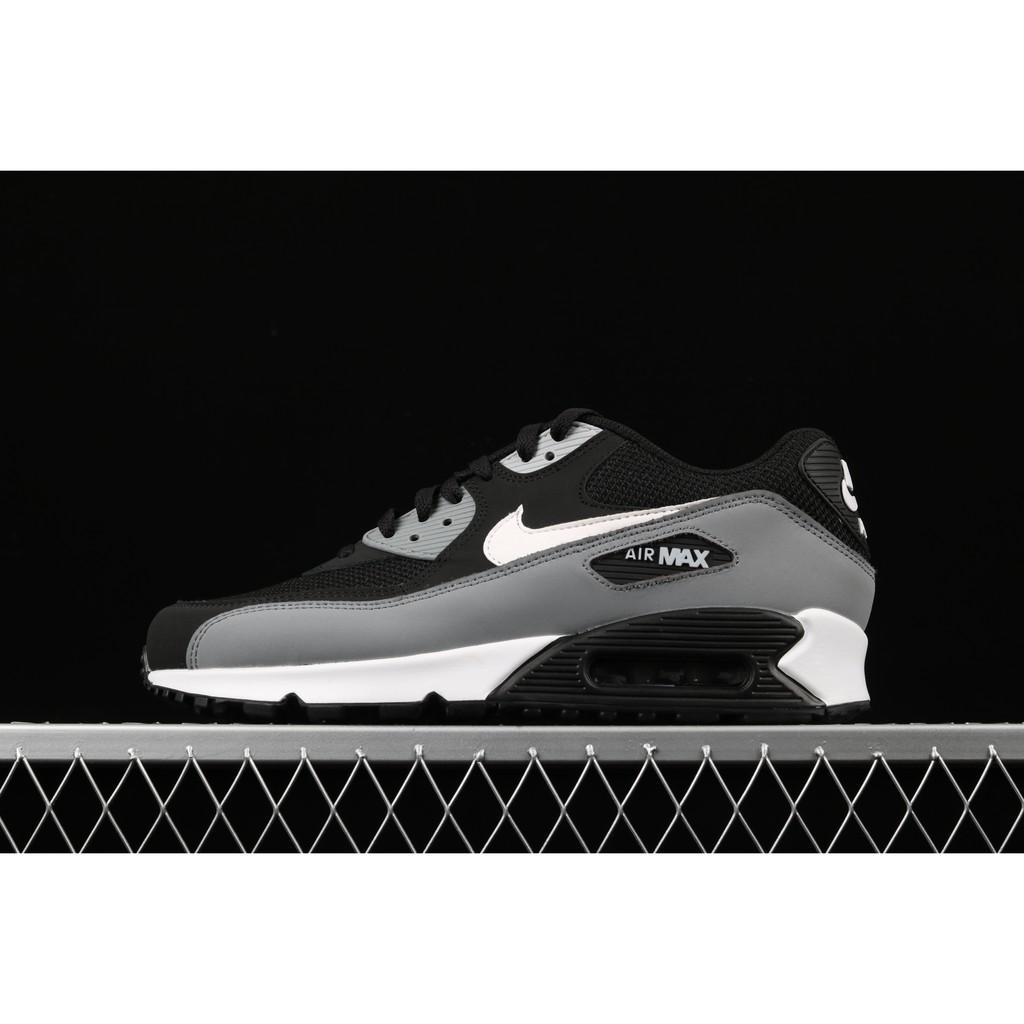 รองเท้าผู้ชาย NIKE Nike 2019 ฤดูใบไม้ผลิใหม่ Air Max 90 เบาะกันกระแทกรองเท้ากีฬารองเท้าวิ่งที่สะดวกสบาย