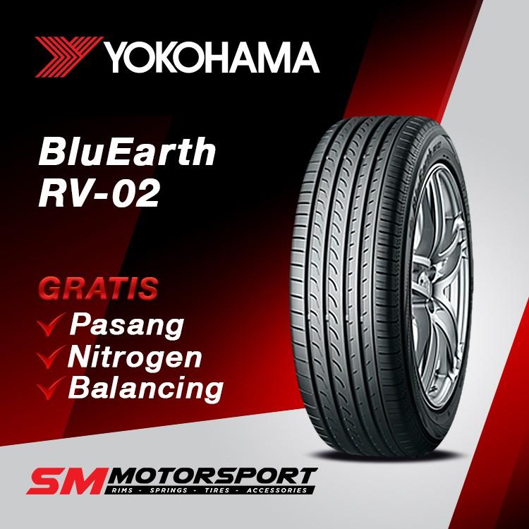 ยางรถยนต์ Yokohama Bluearth Rv02 225 65 R17 106v สําหรับรถยนต์