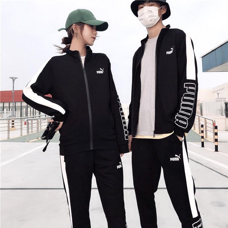 Puma เสื้อแจ็คเก็ตเสื้อคาร์ดิแกนแขนยาวแฟชั่น Unisex