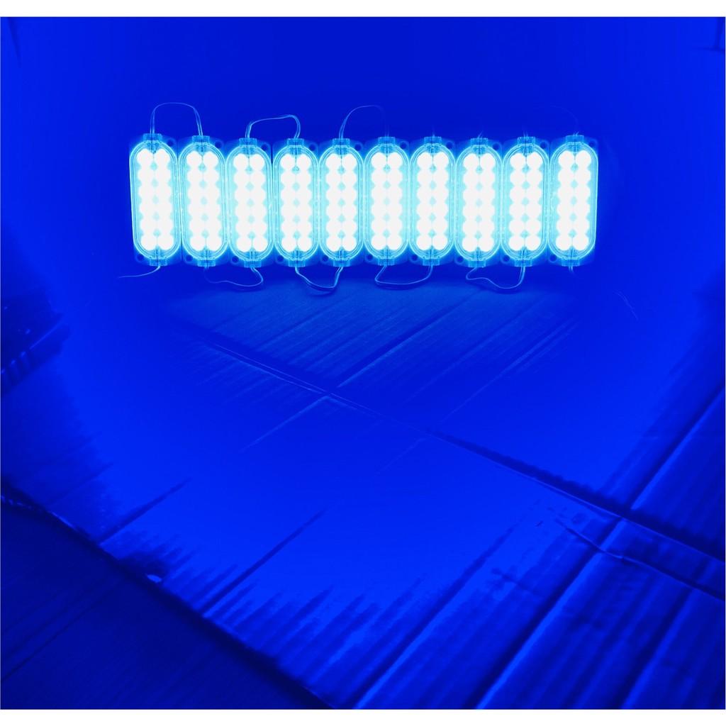ไฟรางเล็กหรือไฟโม ดุลLED12Vกันน้ำ 1แผงมี10ชิ้น 1ชิ้นมีไฟ12 LED เลือกสีได้ครับ ข้างหลังมีกาว 3 M  24V y7wQ