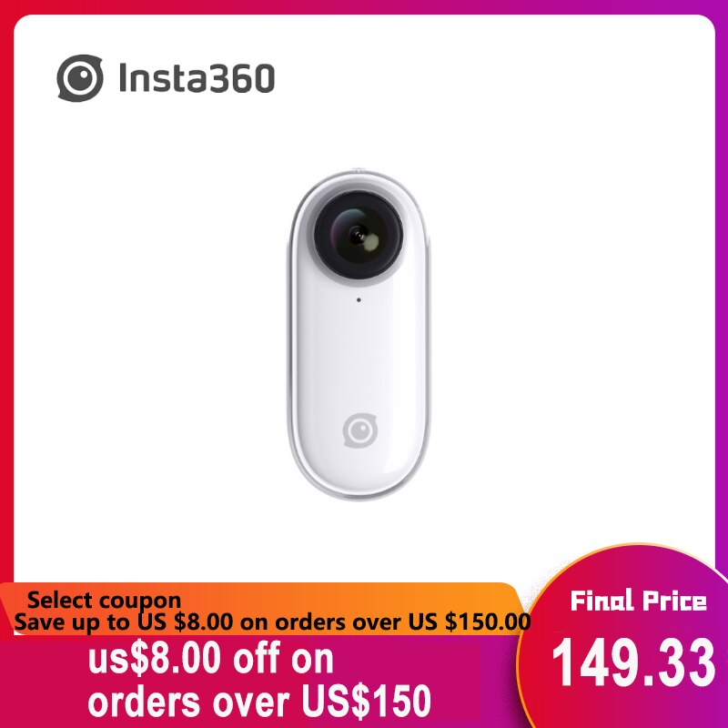 Insta 360 Go กล้องแอคชั่น Ai Auto Editing แฮนด์ฟรีขนาดเล็ก Insta 360 Go