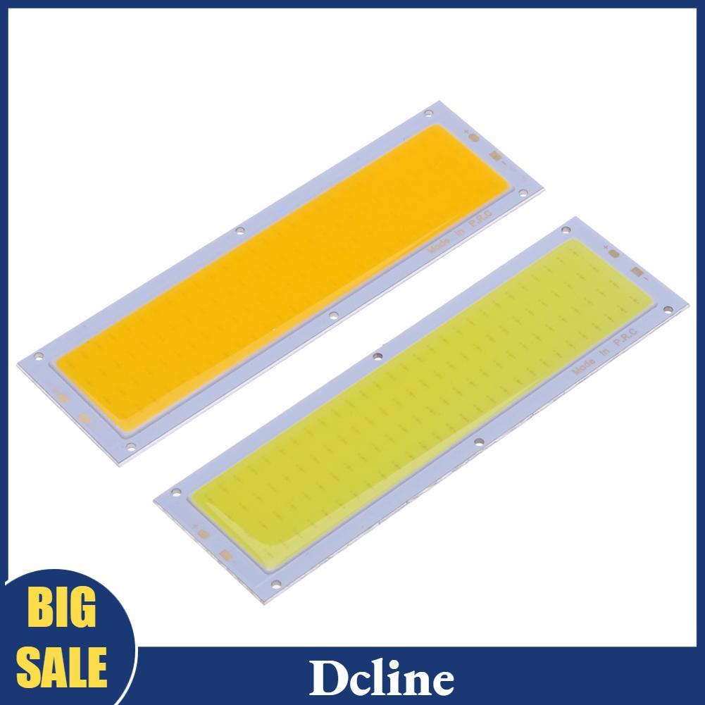 [Dcline] แผงหลอดไฟ LED 12V 10W 120X36มม. สีขาวอบอุ่น/ขาว