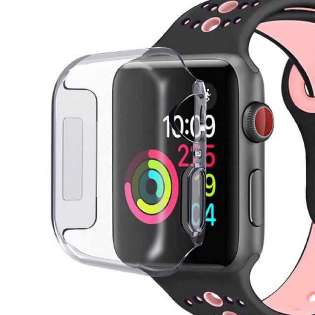 Apple Watch 1 / 2 / 3 / 4 / 5  TPU / PC 360 ° Transparent Protective Case