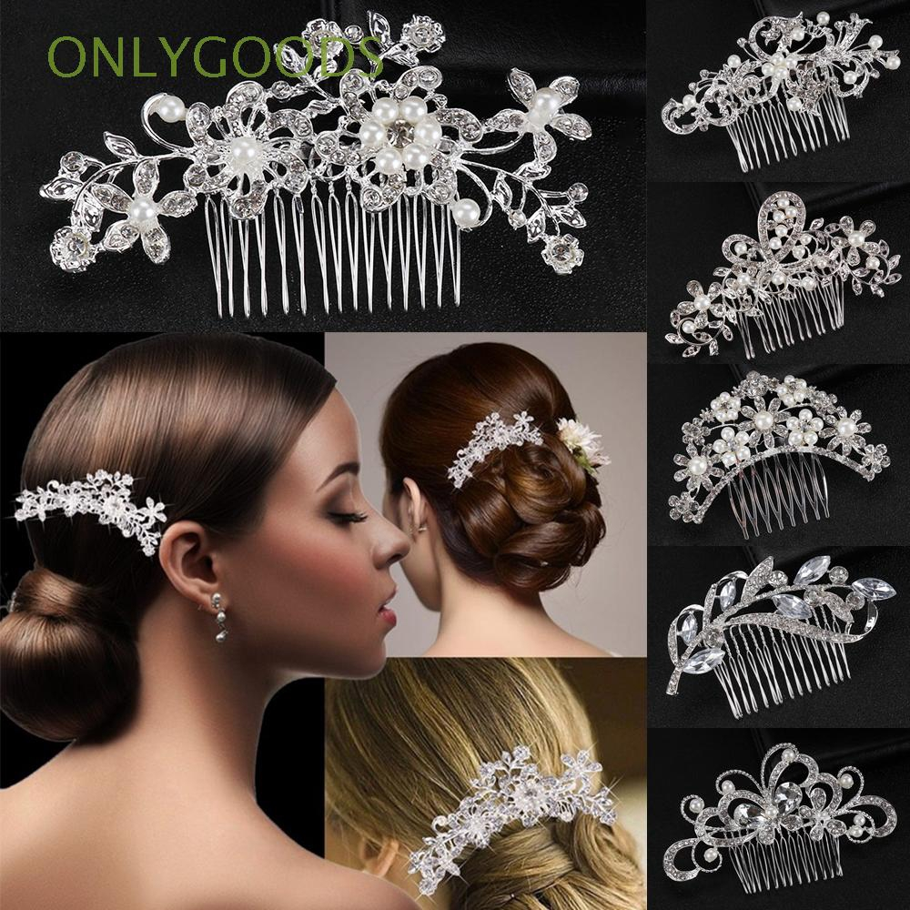 jewelry hair accessories hair ornaments flower leaf headpieces bridal hair comb