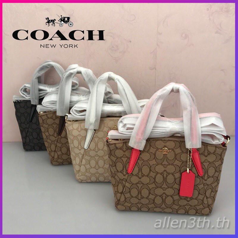 กระเป๋าผู้หญิง Coach แท้ F57830 Handbag / Tote / กระเป๋าถือผู้หญิง / crossbody bag / กระเป๋าสะพายข้าง / กระเป๋าforever young