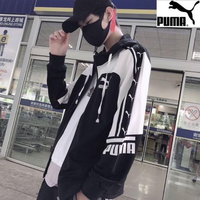 เสื้อแขนยาวกันหนาวกันลม PUMAแท้100%👍👍👍