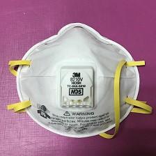 3M8210Vหน้ากากมีวาล์วป้องกันฝุ่นละออง,เชื้อโรคN95