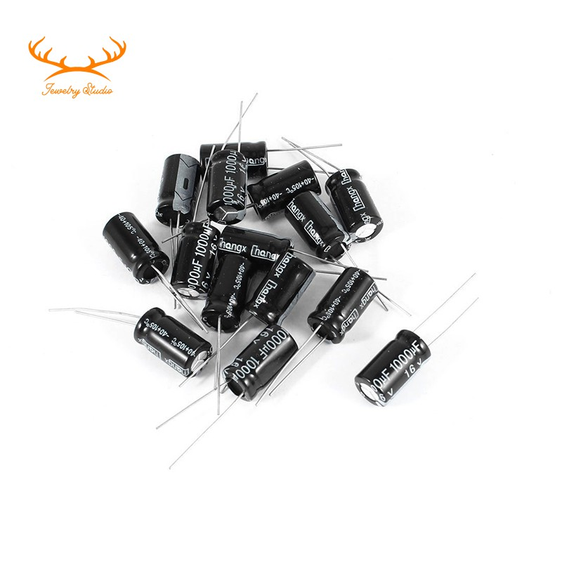 Lot of 15pcs Electrolytic Capacitor 100uF 100V 105C
