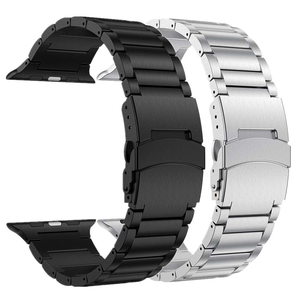 สายนาฬิกาข้อมือสําหรับ Apple Watch Band 44 มม. Series 5 4 Correa สําหรับ Iwatch Strap 40 มม. 38 มม. 3 2 1