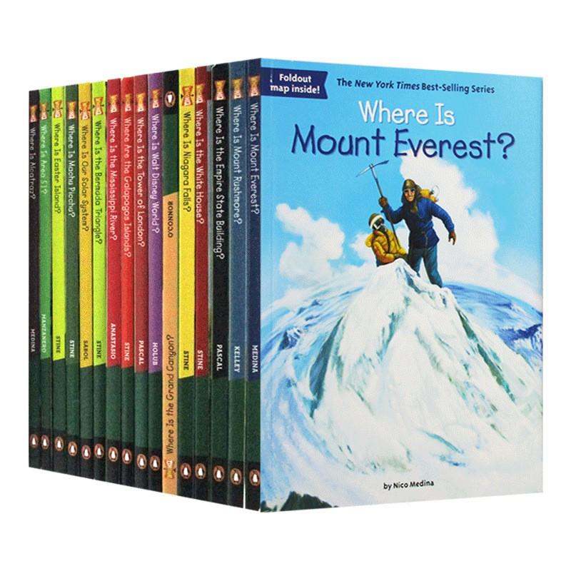 Hot Books Where Is Series หนังสือภูมิศาสตร์ภาษาอังกฤษสําหรับเด็ก