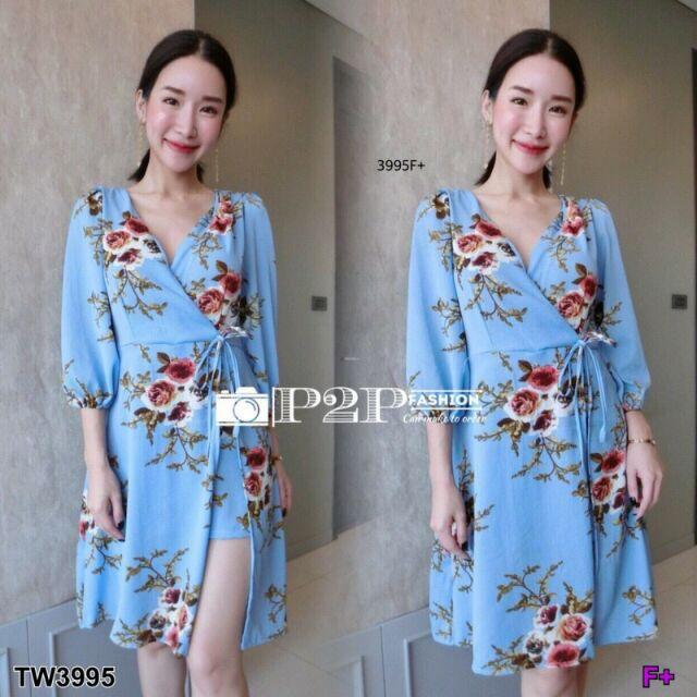 รีวิว ✨✨#BEST SELLER  TW3995 จั้มสูทก้านแก้ว ลายดอกกุหลาบสุดฮิต **สอบถามก่อนสั่งซื้อ** ##ชุดเดรส ชุดแฟชั่น เสื้อผ้าผู้หญิง เสื้อผ้า เสื้อ กางเกง กระโปรง แฟชั่นผู้หญิง เดรส ชุดผู้หญิง ชุดออกงาน Dress ชุดทำงาน