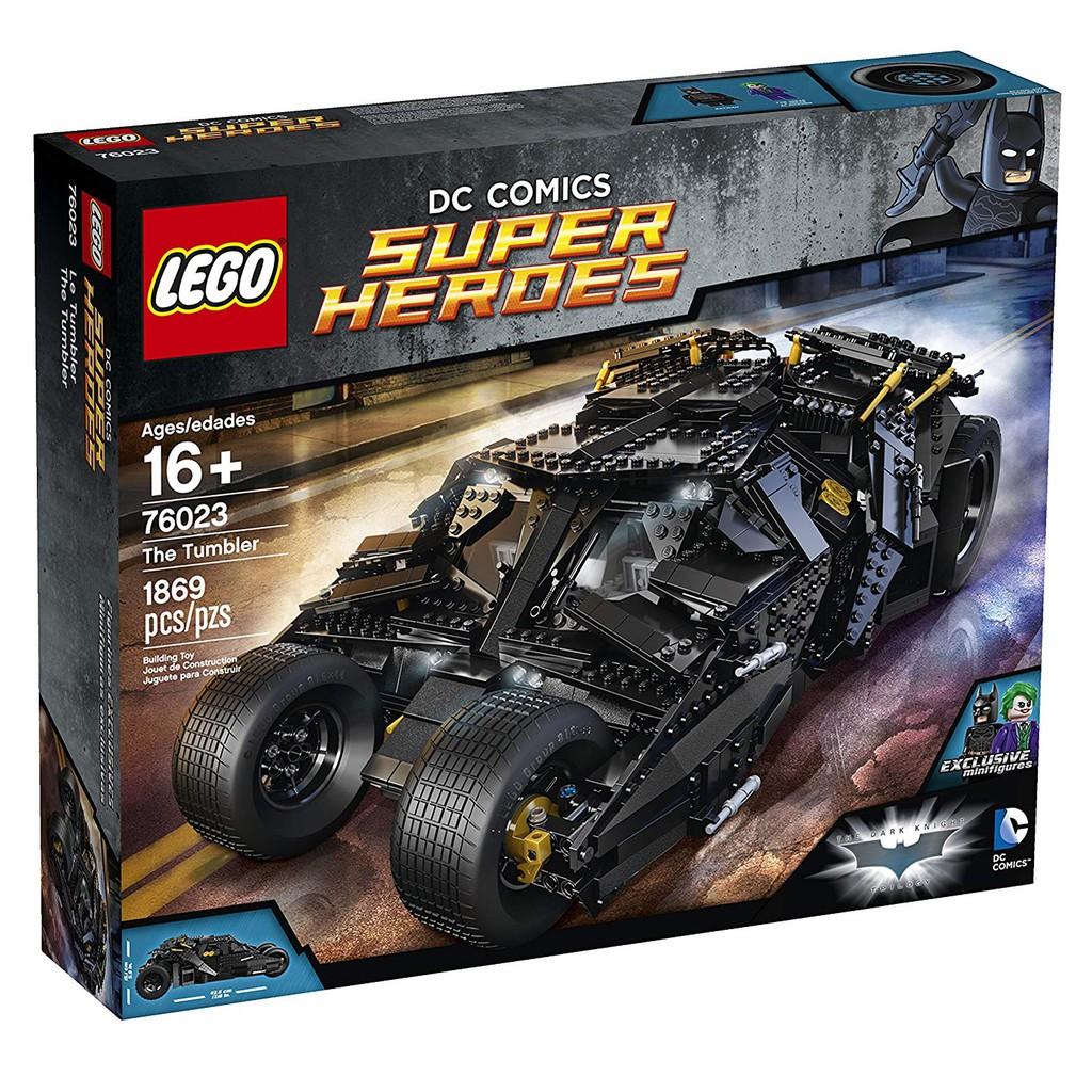 LEGO Superheroes Dark Knight Joker Minifigure 76023