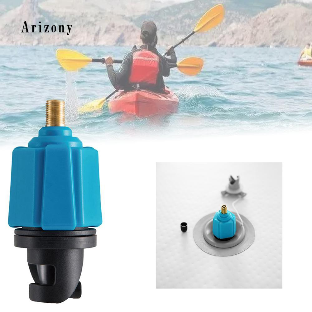 2Pcs Inflatable PVC 8-Hole Air Valves Adapter Kayak Rubber Boats Dinghy Raft