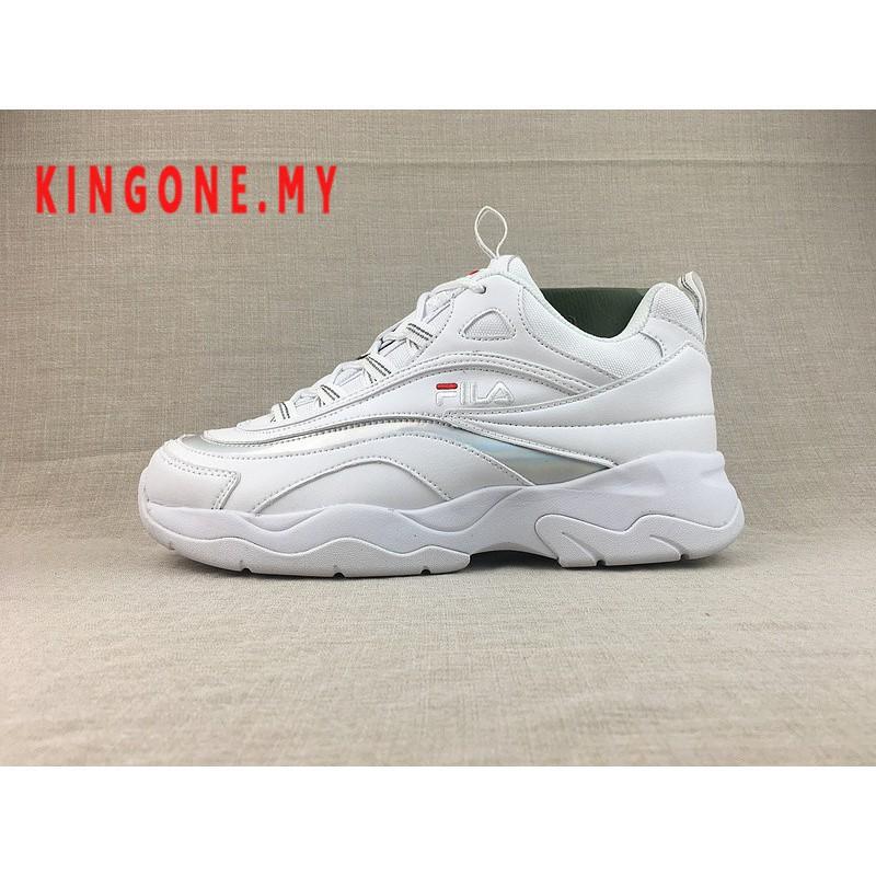 Original ฟิล่า Fila Ray รองเท้าผ้าใบรองเท้าวิ่ง 15