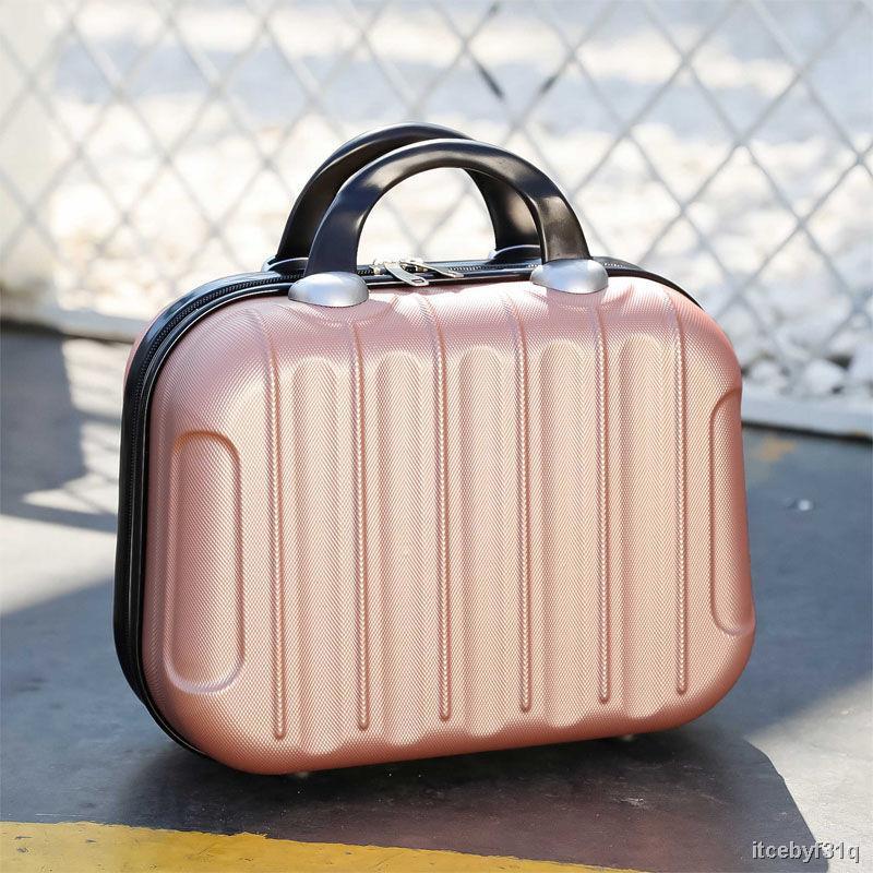 ราคาต่ำสุด✐☈กระเป๋าแฟชั่นกระเป๋าเครื่องสำอางกระเป๋า 14 นิ้วความจุขนาดใหญ่แบบพกพากระเป๋าเก็บหญิงน่ารักอินกระเป๋าเดินทาง