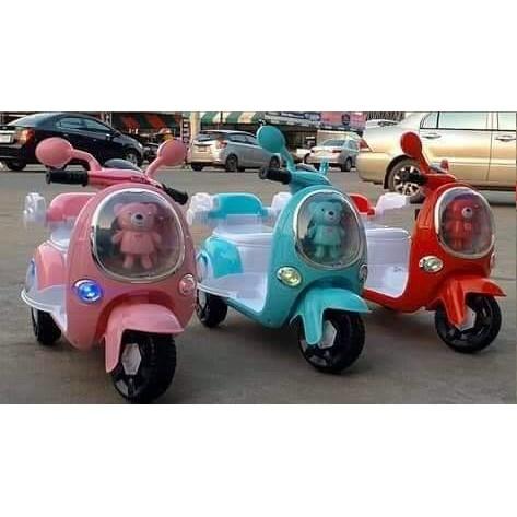 (ส่งฟรี) รถแบตเตอรี่ รถมอเตอร์ไซด์เด็ก รถเด็กเล่น แบตเตอรี่ สำหรับเด็ก 2-6 ปี