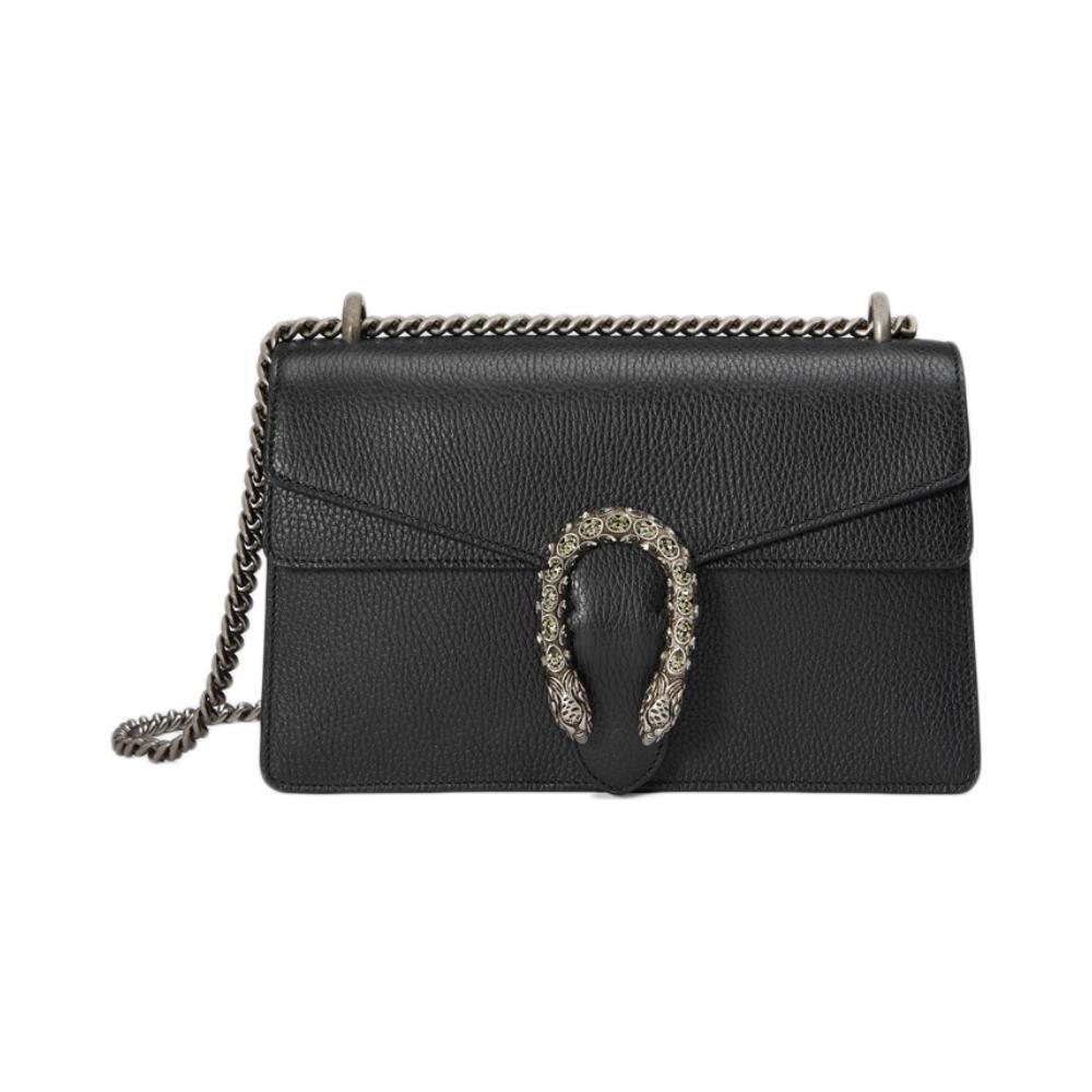 Gucci/สกุชชี่ Dionysusชุดสีดำเสือสเปอร์เพชรขนาดเล็กนางสาวกระเป๋าสะพายกระเป๋า