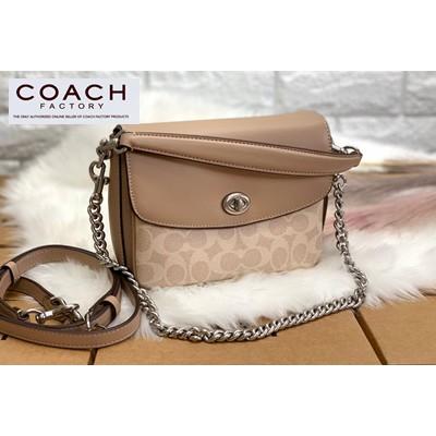 กระเป๋าสะพายข้าง COACH CASSIE CROSSBODY 19 IN SIGNATURE BAG