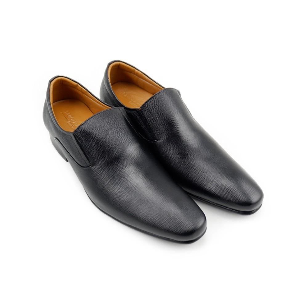 ✷LUIGI BATANI รองเท้าคัชชูหนังแท้ รุ่น LBD7043-51 สีดำ♜