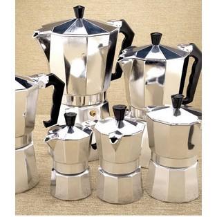 ถูกที่สุด กาต้มกาแฟสดเครื่องชงกาแฟสด กาทำกาแฟสดที่ทำกาแฟสดพกพา Moka pot หม้อต้มกาแฟสด คุณภาพดี
