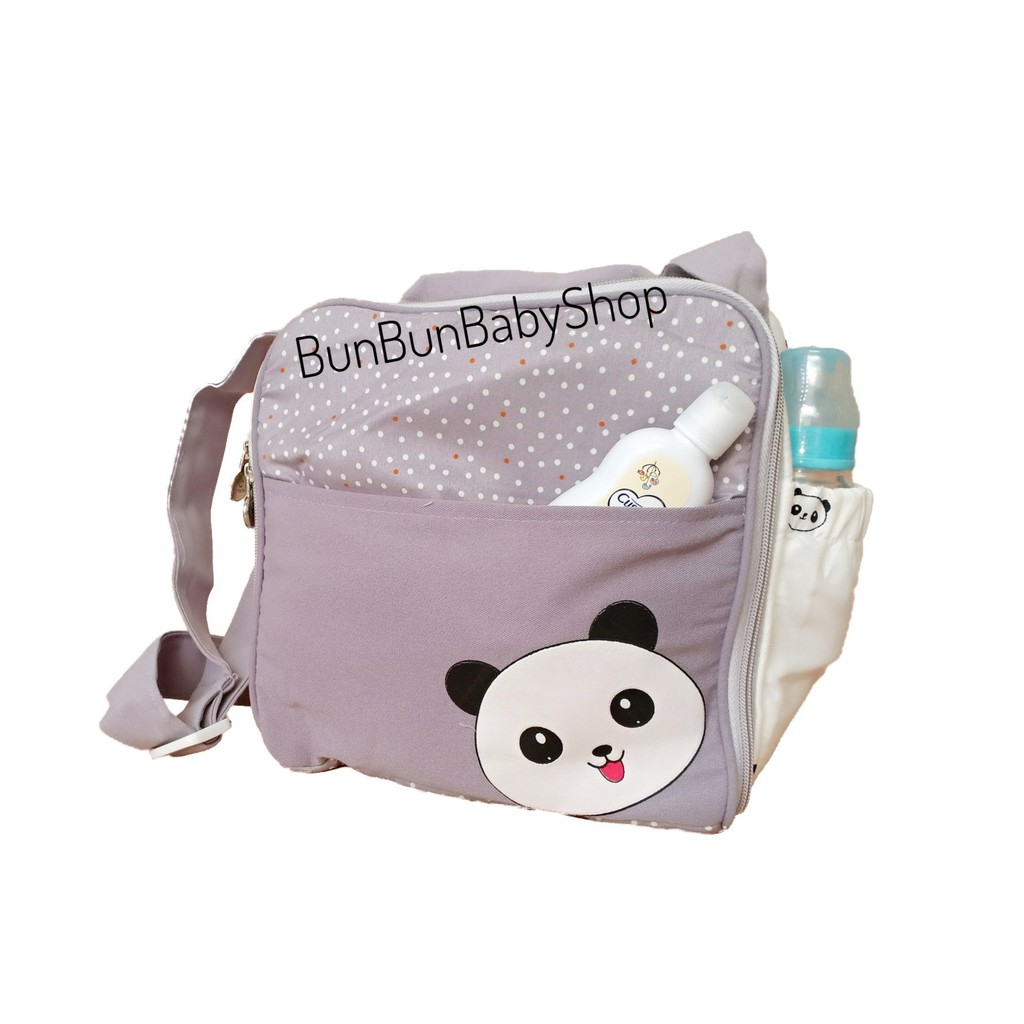 OMILAND กระเป๋าเด็กของใช้เด็กแรกเกิดน่ารักสำหรับเด็กแรกเกิดการเดินทางอุปกรณ์ Bunbunbabyshop