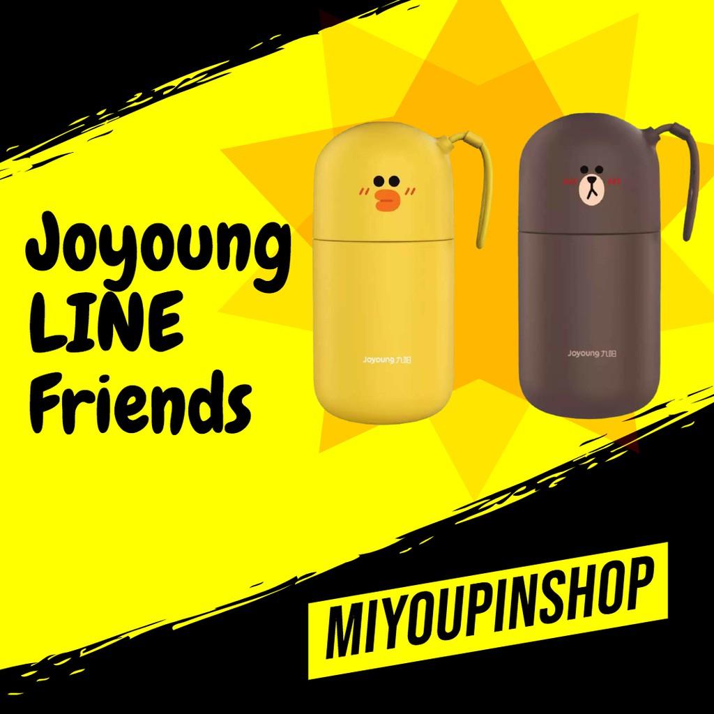 Joyoung LINE Friends เครื่องปั่นเก็บความร้อน Brown / Sally