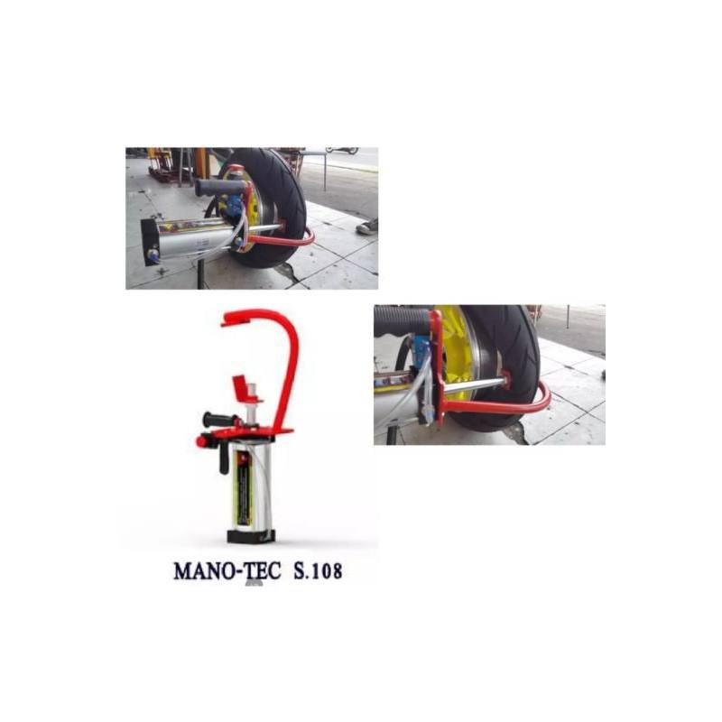 เครื่องกดขอบยางสำหรับถอดยางมอเตอร์ไซค์tubeless แบบมือถือ