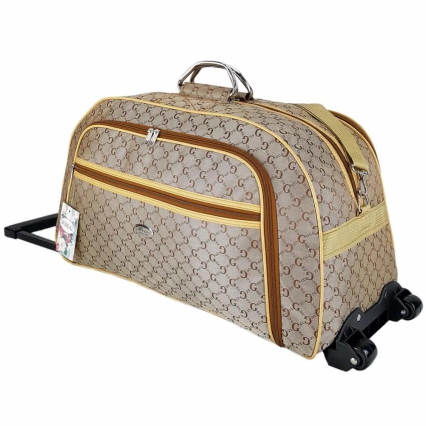 กระเป๋าเดินทางล้อลาก Luggage Wheal  24 นิ้ว BG -Classic Code F661424-1 (Cream) กระเป๋าล้อลาก กระเป๋าเดินทางล้อลาก