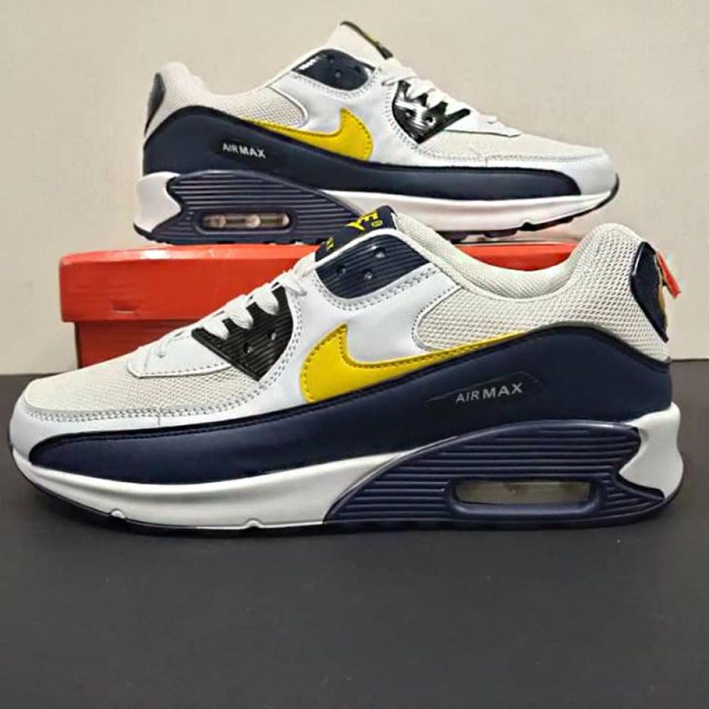 ร้าน ไนกี้ อย่างเป็นทางการในกรุงเทพ แท้ Nike Air Max 90 รองเท้าผ้าใบเบาะลม รองเท้าวิ่ง รองเท้าผู้ชาย รองเท้าสตรี ส่วนลดก