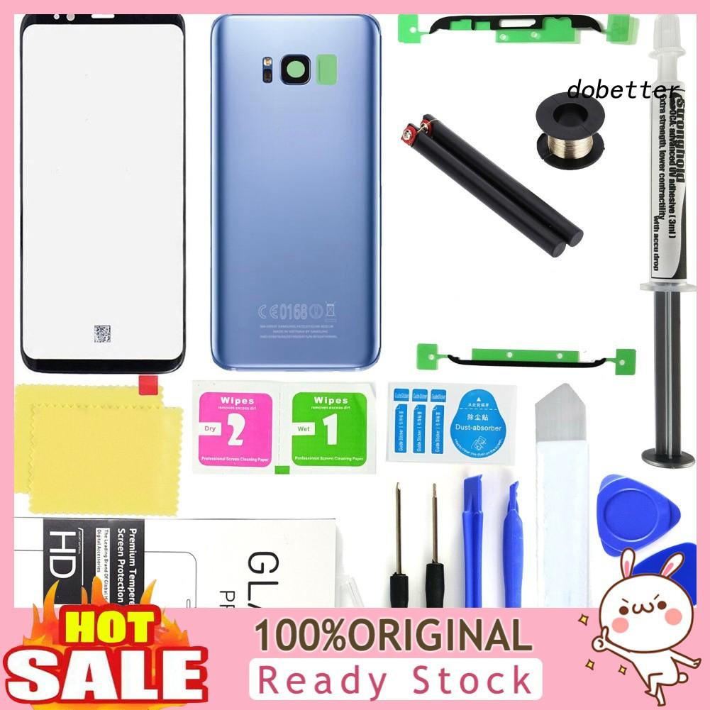 Doh_ ชุดอุปกรณ์ซ่อมแซมหน้าจอสําหรับ Samsung Galaxy S 8 Plus
