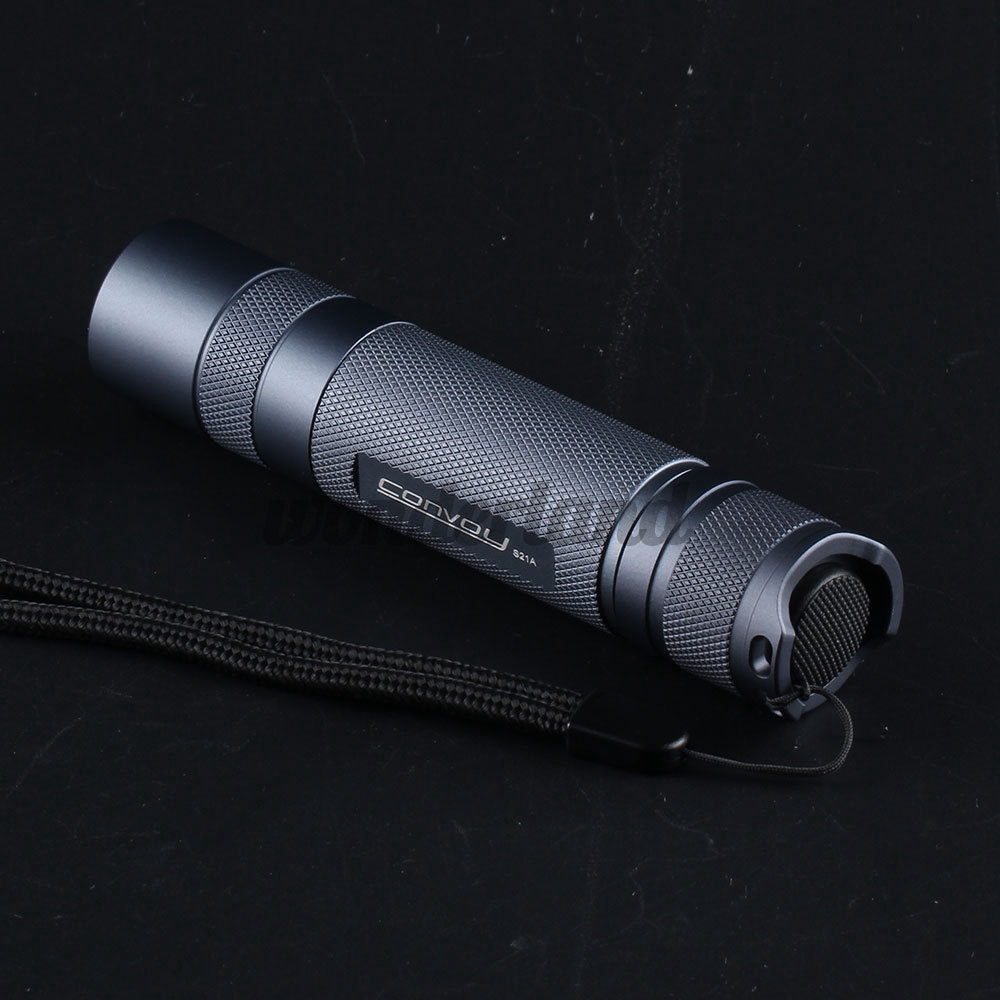 Convoy S21A 2300 Lumens Flashlight Copper DTP Board 18650 Battery 4 Modes Torch Light Camping Emergency Lamp wxFi