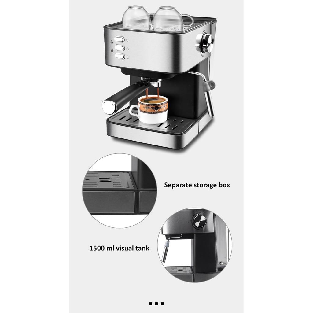 ✿♦❃เครื่องชงกาแฟอัตโนมัติ เครื่องชงกาแฟ เครื่องทำกาแฟ