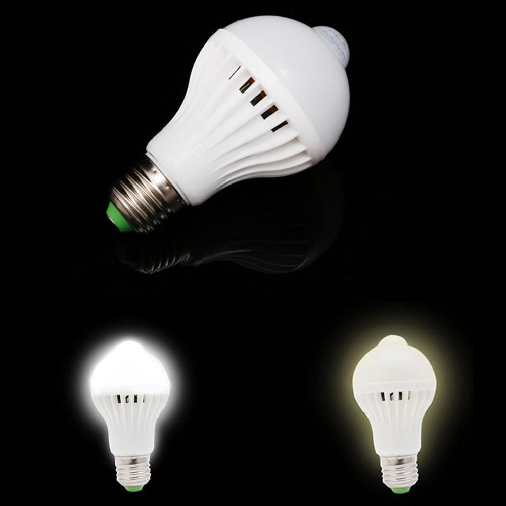 Saving Bulb Pir 5w7w9w Sensor Auto Infrared Lamp Motion Led Light Energy qSMzVpU