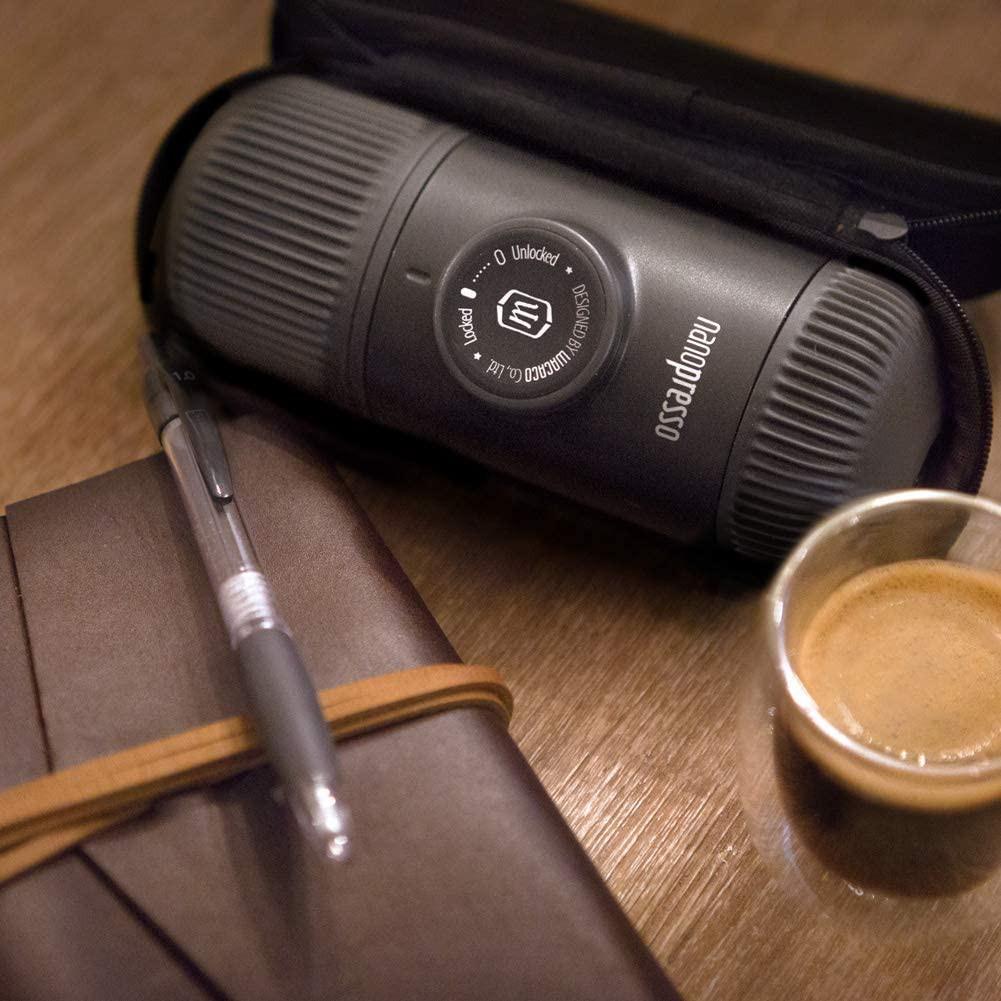 ความตกใจกำลังจะมา℡☌Wacaco Nanopresso Coffee Maker เครื่องชงกาแฟพกพา เครื่องทำกาแฟ พกพา สายแคมป์ แคมปิ้ง อุปกรณ์กาแฟ (ผ่อ