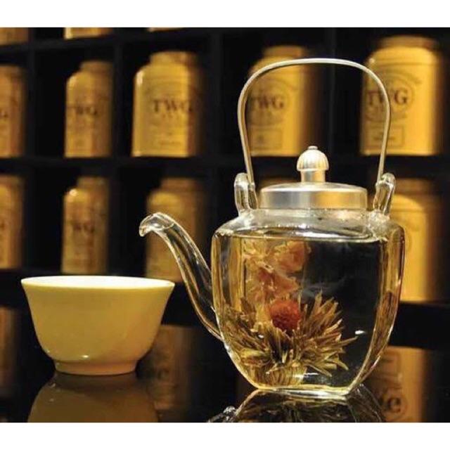 ชาดอกไม้ TWG Tea Flowers🌹🌼🌸🌺🥀 ดอกไม้ปานตอนแช่น้ำ