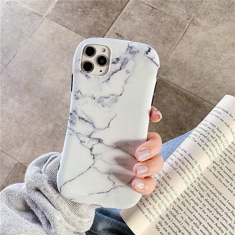 เคสโทรศัพท์มือถือลายหินอ่อนสําหรับ Iphone 11 Apple 11promax